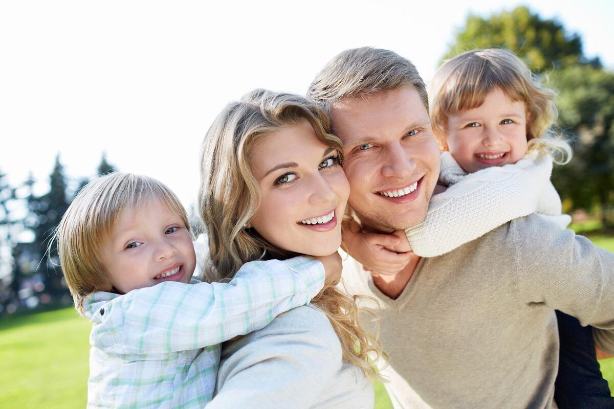 Картинки с видами счастливой семьи